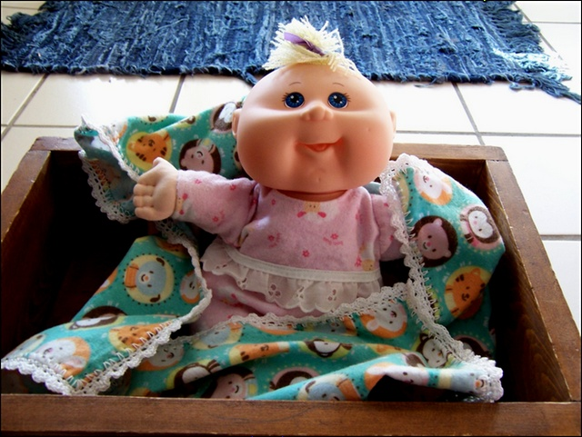FREE Patterns for Surprise Newborn Cabbage Patch Doll Clothes!!!