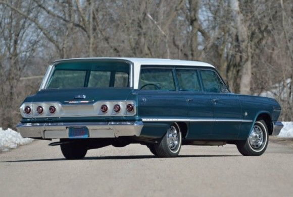 1963, the year I was born in and so was this Impala with 409 V8, Positraction rear end, A\C, and plenty of room to carry the extra tires you would burn through..