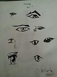 The Eyes Have It ..pen art