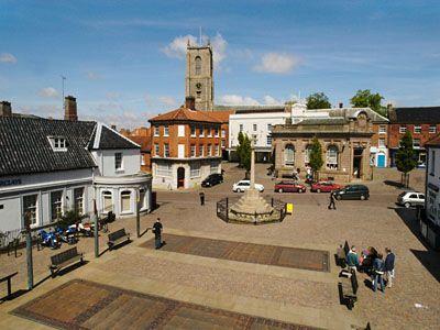 Market Place, Fakenham, Norfolk.