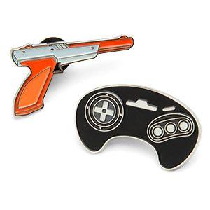 I WANT!!!   |  ThinkGeek :: Retro Video Game Collectible Enamel Pin Set Series 4
