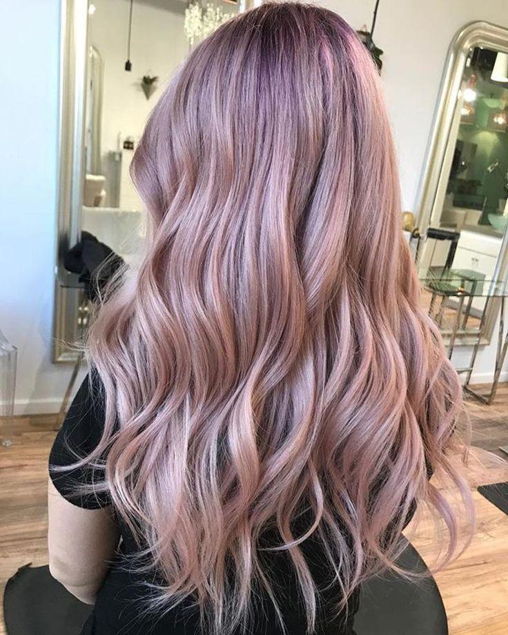 Purple tinted long strands.  #longhairstyles #longhairinspiration #hairstyle #haircolor #hairgoals #hairootd #hairenvy #hairheaven #hairfirst #haireverything #perfecthair #hairwants #hairneeds #hairessentials #everydayhair
