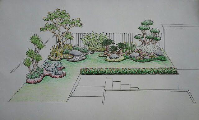Jasa Tukang Taman Jakarta Barat Tukang Taman Di Jakarta Barat Taman Jepang Sketsa Galeri