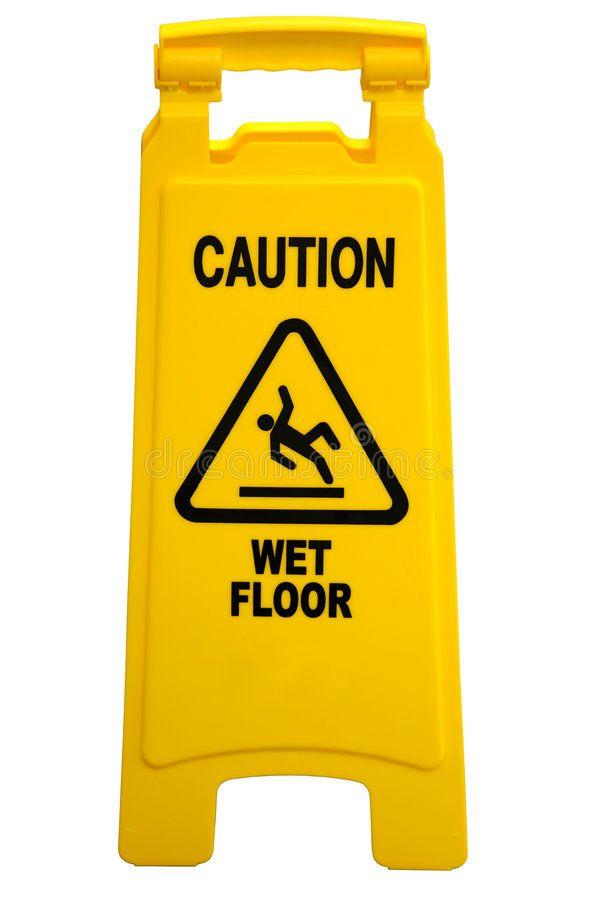Caution Wet Floor Sign Yellow Floor Sign With Words Caution Wet Floor Isolated Aff Sign Yellow Floor Caution Wet A Wet Floor Signs Wet Floor Wet