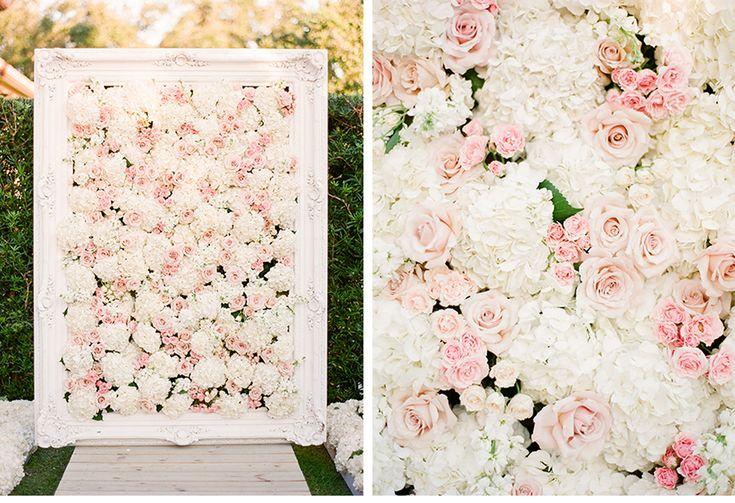 tableau avec fleurs