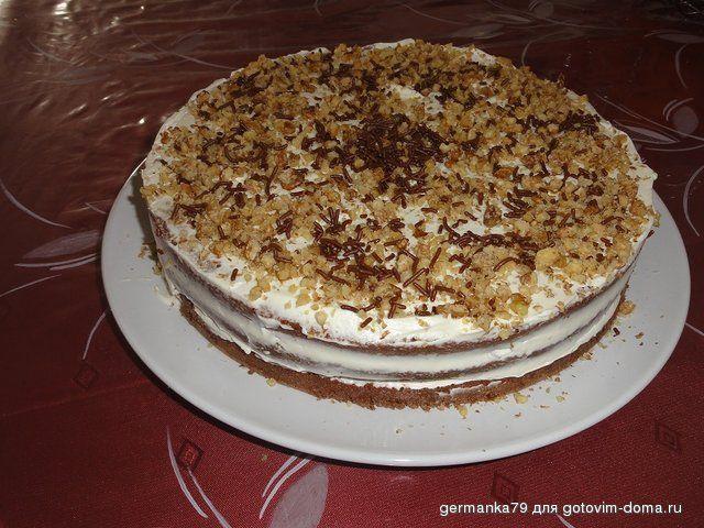 Торт *Малиновая нежность*