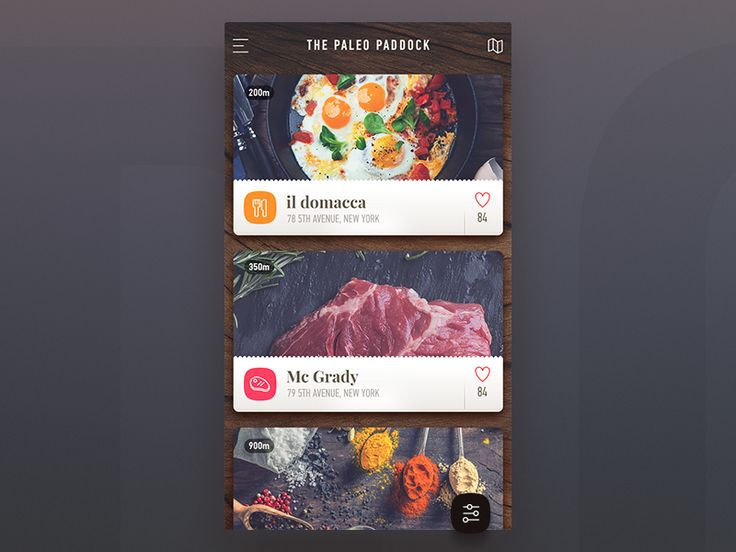Hi Guys. Here is a listing screen we've done for one of our iOS apps. Paleo Paddock takes the pain out of finding your Paleo cafes, butchers, health supplies and more by locating what is close to ...