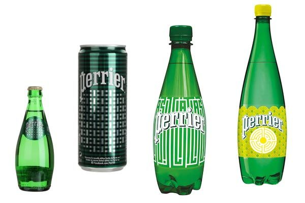 Perrier inspired by street art  by L'Atlas #packaging #eaugazeuse