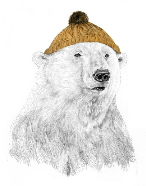 //Polar, Bears Hats, Beanie Bears, Jamie Mitchell, Cap, Bears Wear, Bobble Hats, Abbie Bears, Cutest Things
