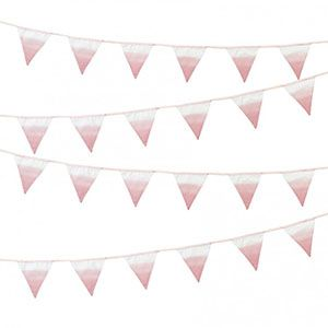 bake&more doğum günü afişi, doğum günü, pembe doğum günü süsleri, kumaş doğum günü parti malzemeleri