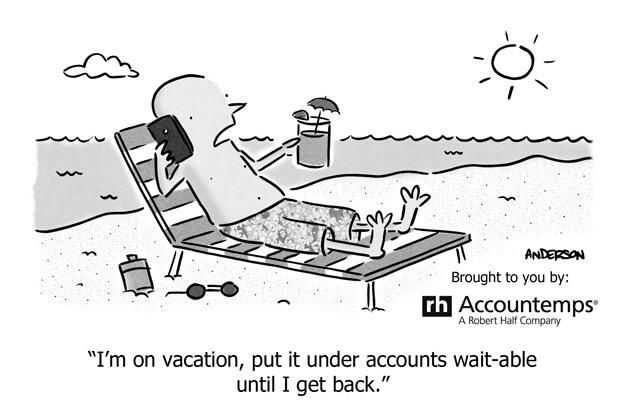 Vacation for a CPA. | Accounting Humor | Accounting humor ...