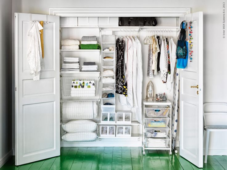 Portable closet by ikea home wish list pinterest for Bedroom storage inspiration