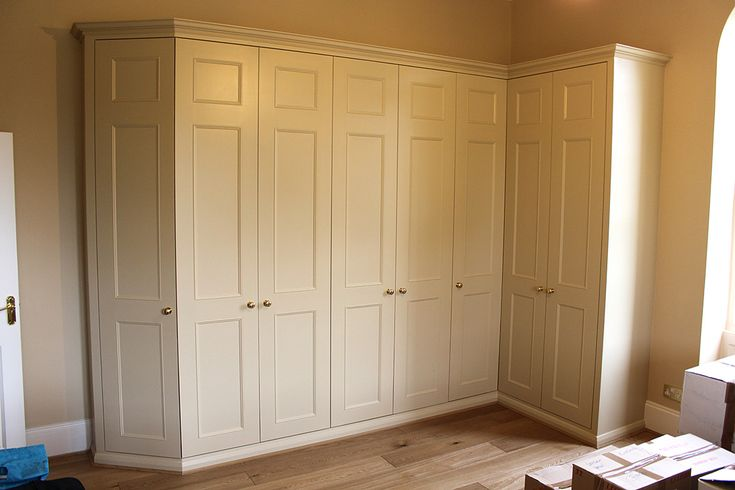 fitted alcove corner wardrobes uk - Google Search