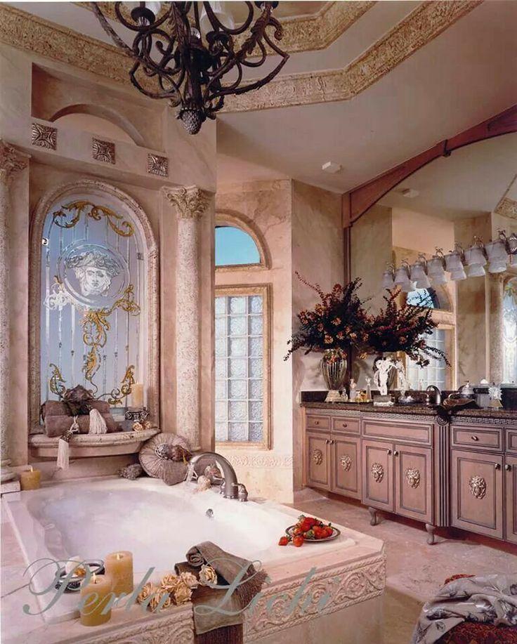 120 best perla lichi images on pinterest design offices for Romantic master bathroom