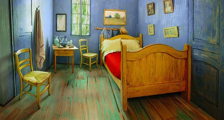 Con soli 9 €potete dormire una notte nella camera di Arles, replicata a grandezza naturale a Chicago