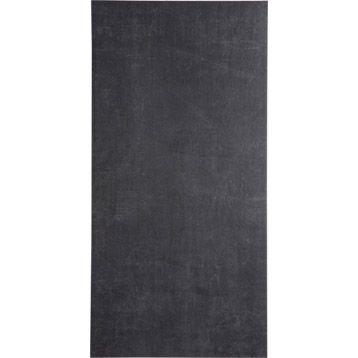 Carrelage int rieur area en gr s c rame teint masse noir - Carrelage gres cerame noir ...