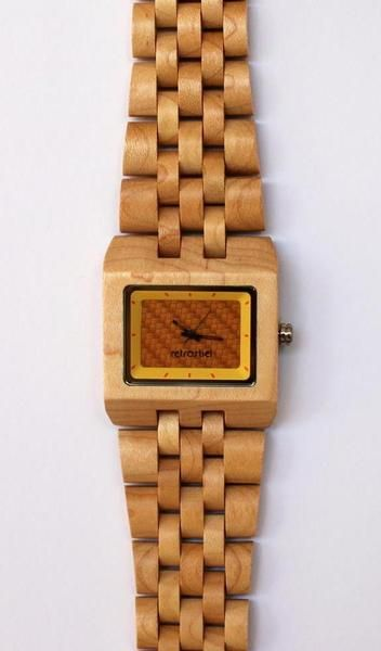 Holz Armbanduhr Square Maple ~ 1000+ images about wear  accessoires on Pinterest  Sock, Ray ban