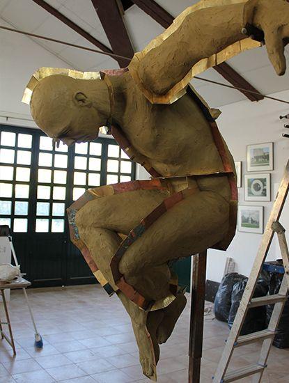 Escultura de Rogério Timóteo | Ícaro