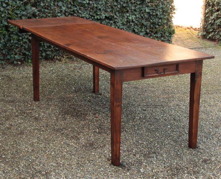 Antiker Tisch Mit Ansteckplatte Antike Tische Antik
