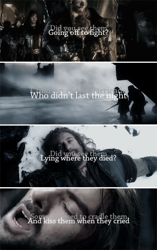 Who will wake them?                                   No   one    ever    will. #thehobbit