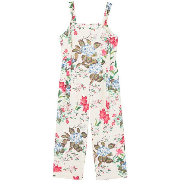 Cotton Print Jumpsuit ($35) ❤ liked on Polyvore featuring jumpsuits, off white, floral jumpsuit, mango jumpsuit, zip jumpsuit, off white jumpsuit and patterned jumpsuit