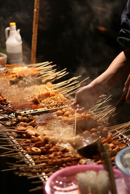 Streetfood - Malatang - Beijing | Photo by Jayme-Antonio on flickr | Permission: CC BY-NC-SA 2.0 http://creativecommons.org/licenses/by-nc-sa/2.0/
