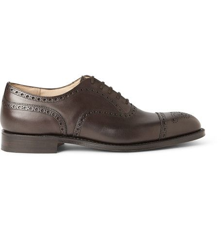 Diplomat Leather Oxford Brogues | MR PORTER, str. 42