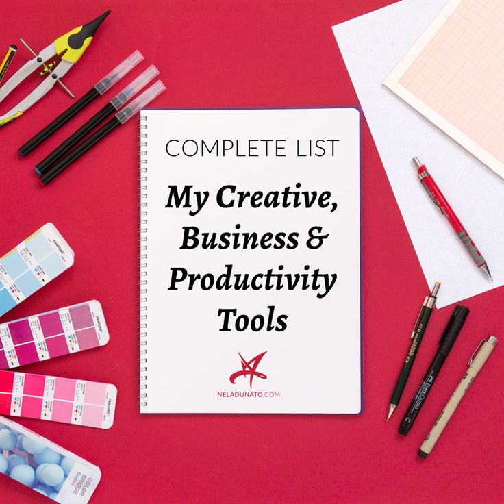 If you're anything like me, you're probably curious about what other creatives use to do their work and run their business. In this post I lay all the high-tech & low-tech tools and software that I use to run my creative graphic design business.
