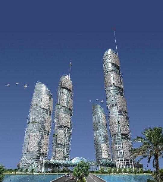 Dubai al reem proposed design.