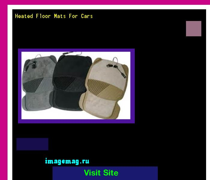 Heated Floor Mats For Cars 073819 - The Best Image Search