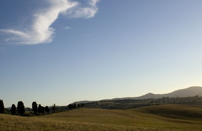 Panorami della #Toscana nei dintorni del #borgo - Views of #Tuscany in the surroundings of the #village.