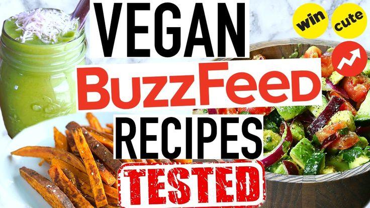 Buzzfeed Food Recipes! Vegan Taste Test!