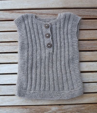 Knitting Pattern Vest Child : 25+ Best Ideas about Baby Vest on Pinterest Baby knits, Knitted baby clothe...