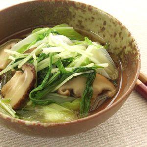 水菜の煮浸し #服部先生のダイエットレシピ #20kcal