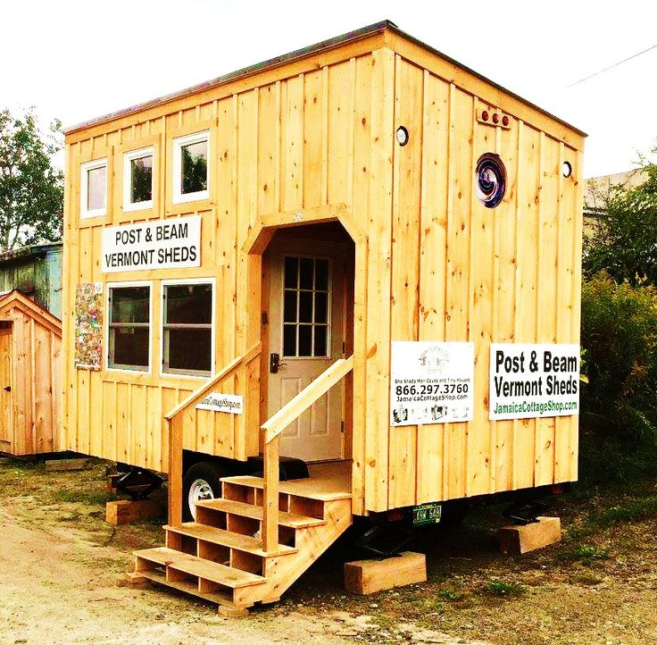 Cabin on wheels 8x16 pictures to pin on pinterest pinsdaddy for 8 by 16 tiny house