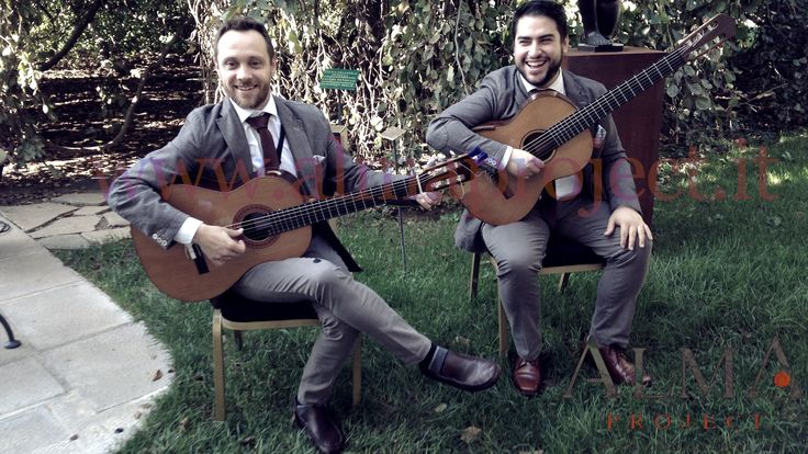 ALMA PROJECT 24/7 @ Four Seasons Florence Brunch FSH - Live Guitar Duo GS_DC 044