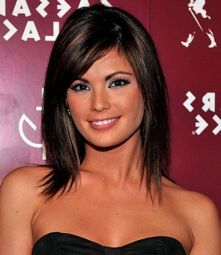 Hairstyles For Straight Hair With Bangs And Layers : Shoulder length layered hairstyles