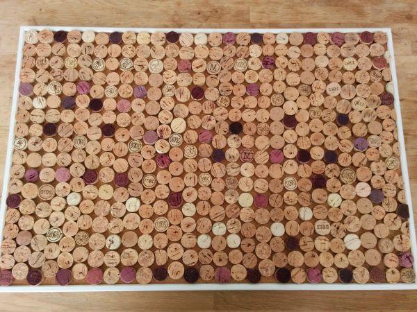DIY: Prikbord met kurk #diy #prikbord