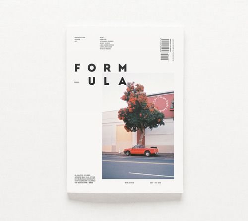Formula Magazine by Bradley Pinkerton #editorial #design #magazine