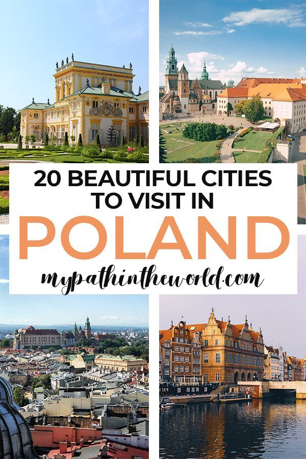20 Best Cities To Visit In Poland Right Now My Path In The World In 2020 Europe Travel Best Cities Poland Travel