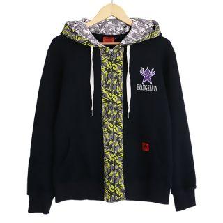 Neon Genesis Evangelion sweatshirts black zip up hoodies for teens cool coat
