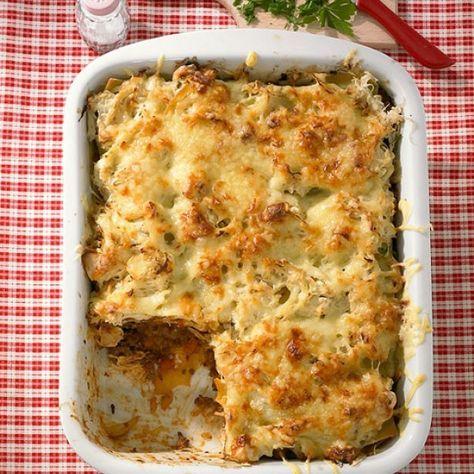 ESSEN & TRINKEN - Sauerkraut-Lasagne Rezept