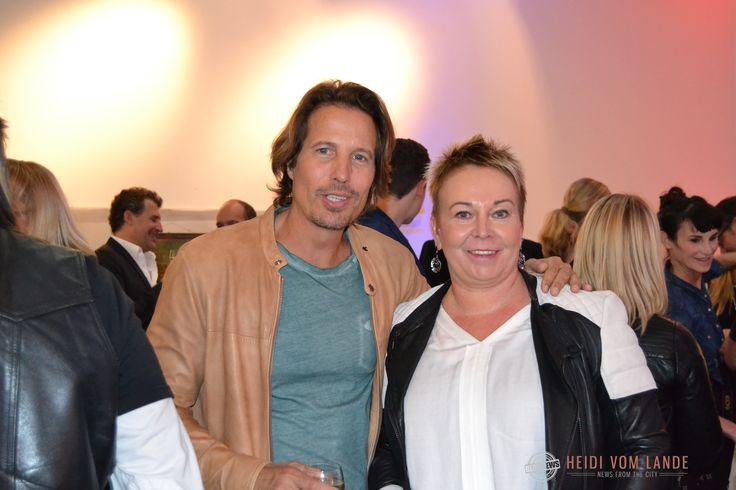 Bloggerin Heidi vom Lande mit Hakim-Michael Meziani, Schauspieler in Rote Rosen und Ex-Bergedorfer