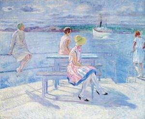 Arne Kavli (1878 – 1970): Avskjed på kaien