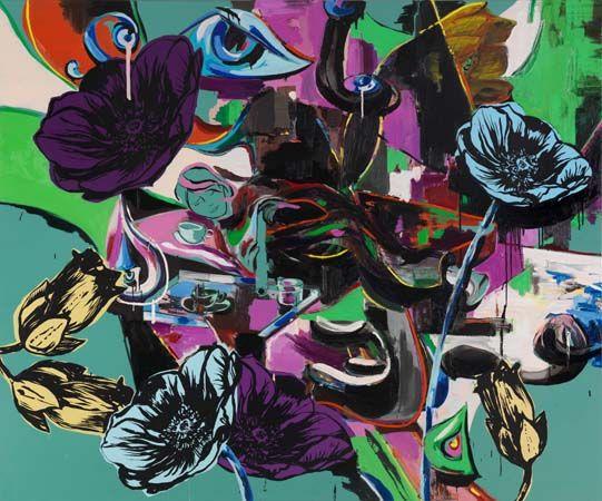 Panorama by Adam Saks, 200 x 240 cm, 2012 | adamsaks.com