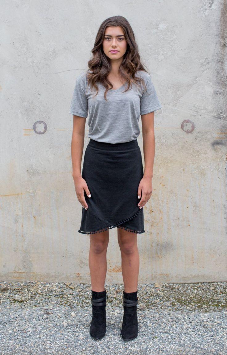 Harlem Pom Pom Trim Skirt