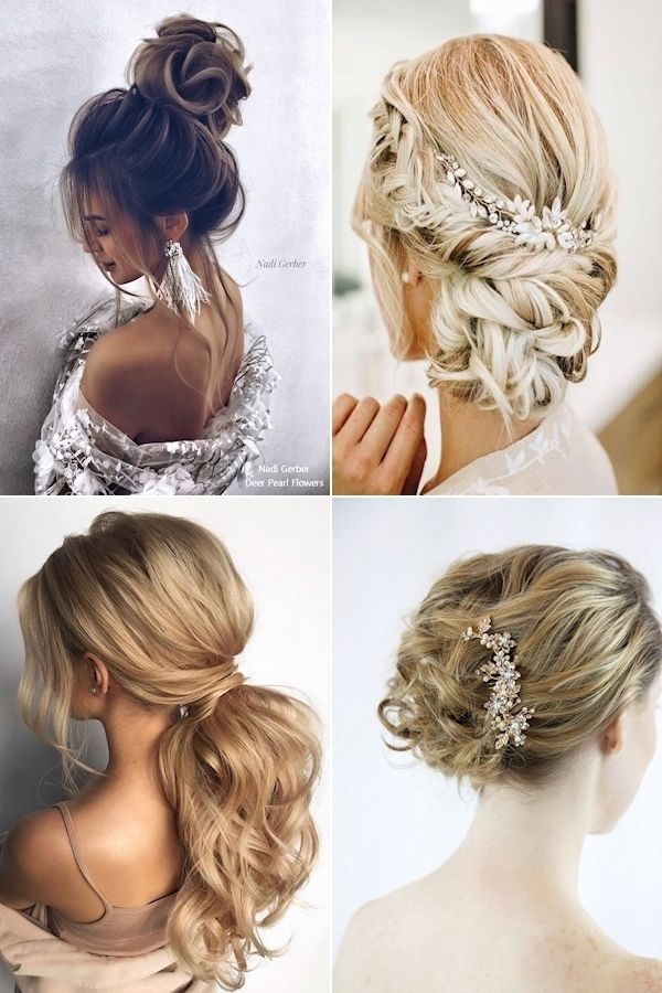 Easy Updos For Medium Hair To Do Yourself Latest Hairdos For Long Hair New Updos For Long Hair In 2020 Long Hair Styles Hair Styles Easy Hairstyles For Long Hair