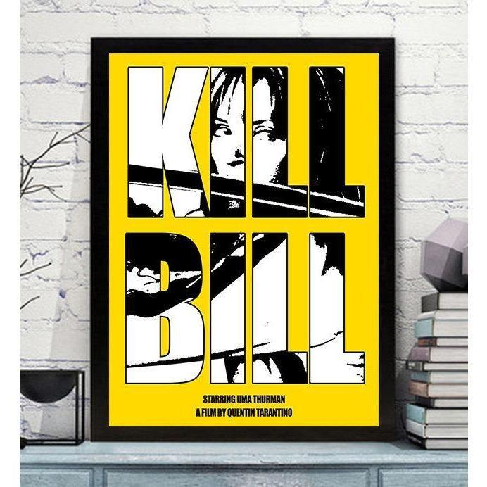 Kill Bill movie poster print. A4 or A5.
