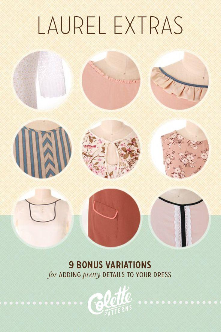 Colette Patterns: Free Laurel Extras