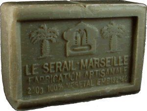 Savon de Marseille (Marseilles Soap) - Clay Soap Bar 250g - Handcrafted pure olive oil French soap by Le Sérail Savon de Marseille. $10.00. Handmade by the last remaining traditional soapmaker in Marseilles - Savonnerie Le Sérail. 80% olive oil base, quadruple milled. Pure, gentle and naturally moisturizing. Free of sodium laureth/lauryl sulfate, phthalates, parabens, tallowate; 100% biodegradable; Not tested on animals. Part of our French soaps collection imported directly...